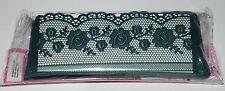 5m Grün Spitzenborte Borte Bordüre Spitzenband Blume Shabby Chic Vintage Band 2