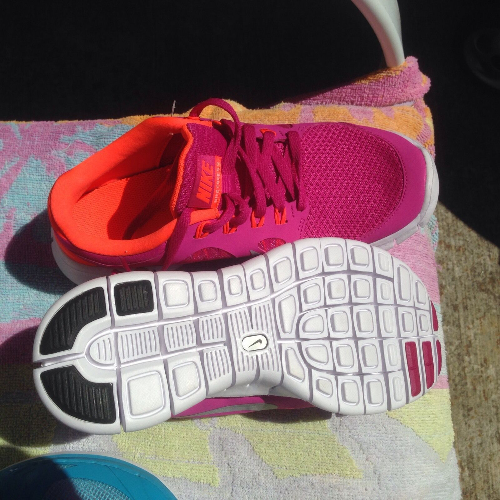 12241c0f50edf New New New Lot Of 2 Pairs women s Nike Free 5.0 in Size 5Y(7-7.5M ...