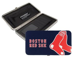 L  K Boston Red Sox MLB Authentic Women s Shell Mesh Wallet by ... 9473841bed