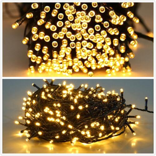 200-300 LED Lichterkette Clusterlichterkette Weihnachtsbeleuch für Innen Außen
