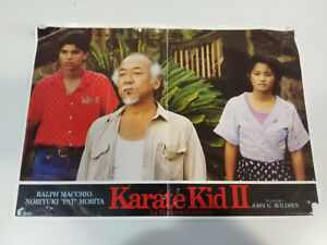 KARATE-KID-II-PELICULA-CARTEL-DE-CINE-POSTER-ORIGINAL-ANTIGUO-34X24-CM