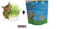 Imperial Cat Organic Easy Grow Oat Grass Kit Or 4 Oz Seeds Package Made In Usa