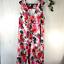 thumbnail 1 - Eddie Bauer Sleeveless Floral Dress Women's Size XL 100% Cotton