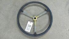 John Deere 40 Steering Wheel 3 Steel Look Keyway Item 0338