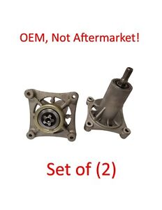 Set-2-Craftsman-42-034-Deck-Spindle-Assembly-YT4000-YS4500-187292-192870-532187292