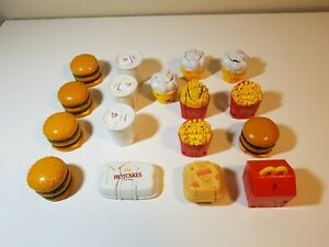 LOT OF 17 VINTAGE 1987-90 MCDONALD'S CHANGEABLES TRANSFORMERS HAPPY MEAL TOYS