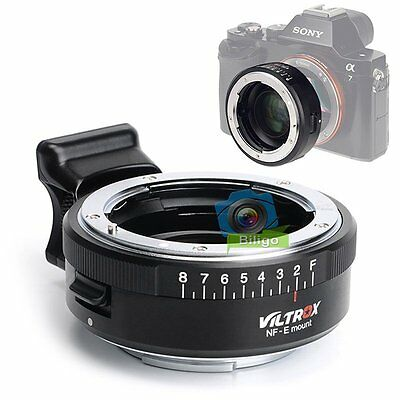 VILTROX Focal Reducer Speed Booster Lens Adapter Nikon F Lens to Sony Nex-7 6 5