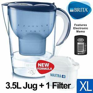 BRITA-Marella-XL-MAXTRA-Plus-3-5L-Water-Filter-Table-Jug-with-1-Cartridge-Blue