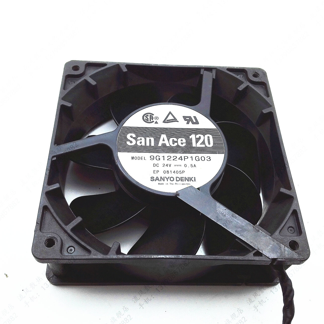 1pcs Sanyo 12038 9G1224P1G03 24V 0.5A 12cm cooling fan