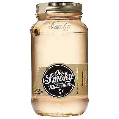 Ole Smoky Peach Moonshine 750mL bottle American Whisky Tennessee