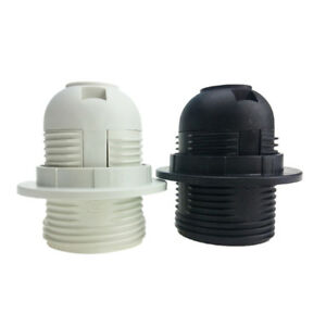 Small Screw E27 Light Bulb Lamp Holder Pendant Socket Lampshade Ring NIUS