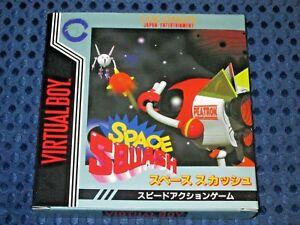 RARE-100-BRAND-NEW-Nintendo-Virtual-Boy-Space-Squash-3D-VB-VR-JAPAN-F-S