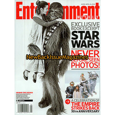 Entertainment Weekly 4/10,Carrie Fisher,Colin Farrell,April 2010,NEW