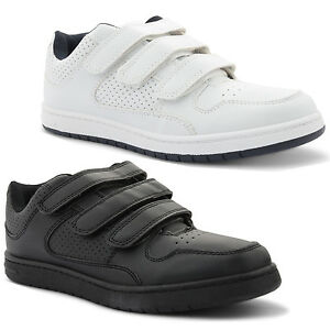 New-Mens-Casual-Strap-Sports-Comfortable-Low-Top-Trainers-Shoes-Size-UK-7-11