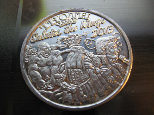 thoth elvis presley king kong 2013 Mardi Gras Doubloon Coin rare new orleans