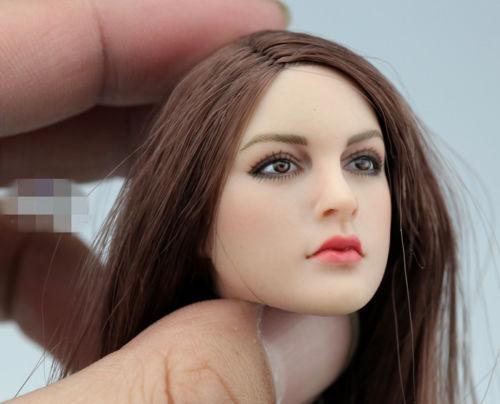 "KIMI TOYS 1:6 KT005 Beauty Girl Head Sculpt F 12/"" PH TBL JO Action Figure Body"