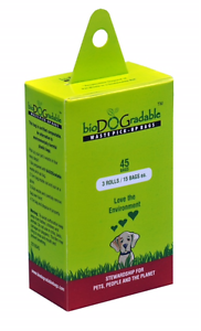 Details About 45 Pet Waste Bags Dog Bulk On A Roll Clean Up Bag