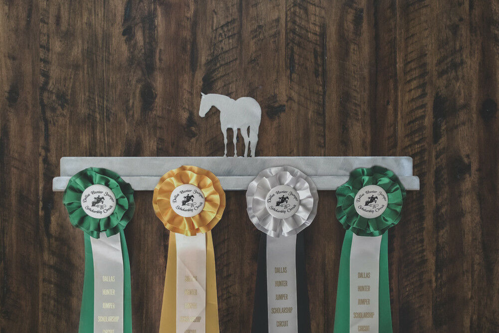 Horse Show Ribbon Display, Holder,  Halter Horse