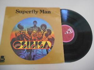 LP Ethno Osibisa - Superfly Man (9 Song) TELDEC / BUDDAH REC - Bremen, Deutschland - LP Ethno Osibisa - Superfly Man (9 Song) TELDEC / BUDDAH REC - Bremen, Deutschland