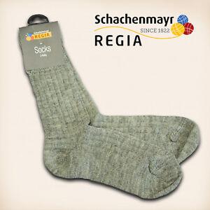 1-Paar-Regia-Gr-44-45-034-Fertigsocken-034-flanell-Schachenmayr-Sockenwolle-Socken