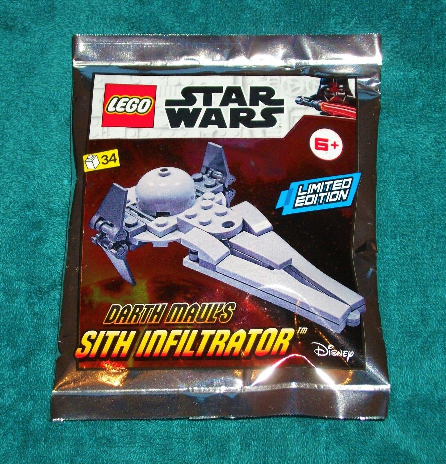 Polybag LEGO® Star Wars Limited Edition 912058 Darth Maul`s Sith Infiltrator