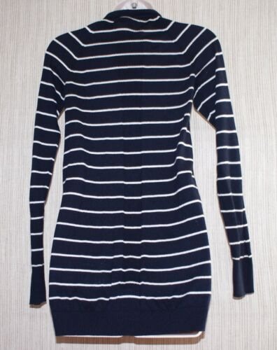 Cotton White Cardigan xs Lond Taglia Vince Striped Navy Donna 6PqPFO