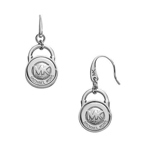 f07c8fa81 Michael Kors MKJ1092 Lock Earrings Silver for sale online | eBay