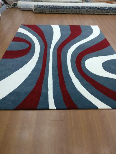 Indian Handmade Tufted Modern Custom Bespoke Wool Carpet Area Rug Kaleen Teppich