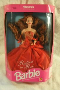 1992-Mattel-Barbie-Radiant-In-Red-Toys-R-Us-Special-Edition
