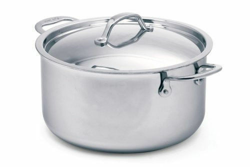 NIB-Cuisinox Elite 3 ply 7.8 Quart Coverouge Dutch Oven-ship free