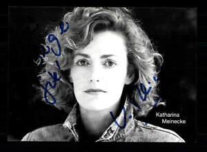Katharina Meinecke Autogrammkarte Original Signiert # Bc 88045 Um 50 Prozent Reduziert Original, Unzertifiziert