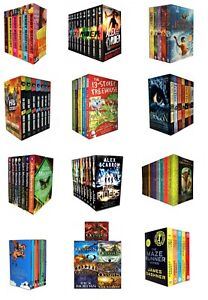 Young-Adults-Books-Collection-Set-Alex-Rider-Hunger-Games-True-Blood-Divergent