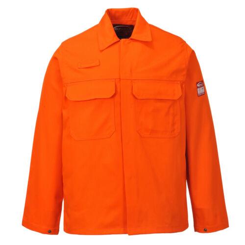 Portwest Men Bizweld Jacket Bottle Grn//Blk//Nvy//Orng//R.Blue//Red Various Size BIZ2