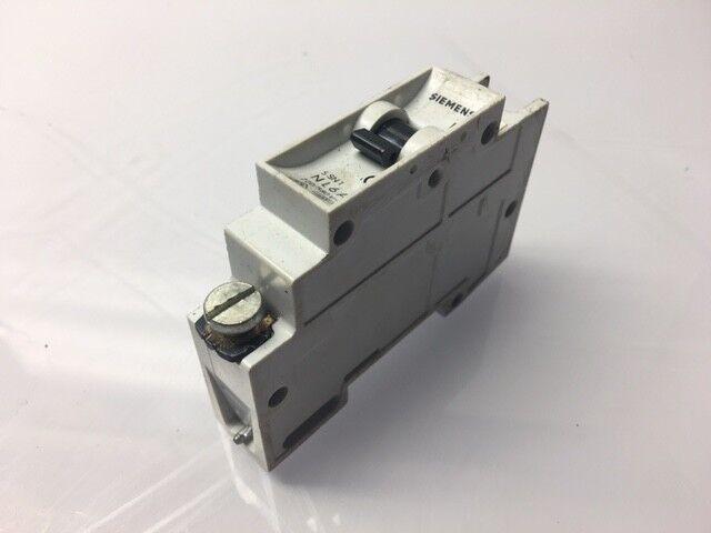 5SN1 WARRANTY Used N L6A 220//380V 1 Pole Siemens 6A Circuit Breaker