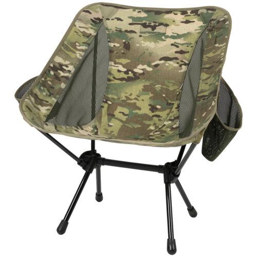 Helikon Range Folding Chair Portable Camping Seat Fishing Festival MultiCam Camo