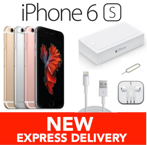 1 of 1 - NEW IN APPLE BOX iPhone 6S 16GB 4G Factory Unlocked Smartphone in NNU