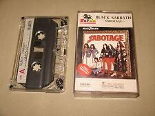 BLACK SABBATH - Sabotage - MC Cassette tape /2784