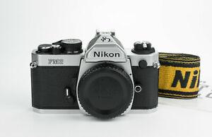 Nikon FM2n 80th Anniversary rare special edition 35mm film camera reflex body