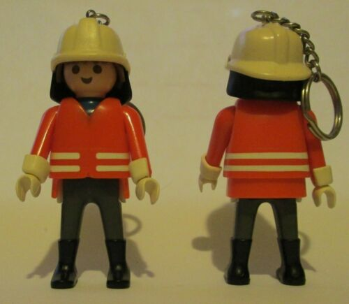 Lego Construction Worker Keychain