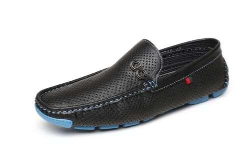 Mens Casual Slip On Shoes Boat Deck Designer Smart Mocassin Driving Loafers Size