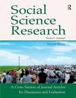 Social Science Research: A Cross Section of Journal Articles for Discussion and Evaluation by Pyrczak Publishing (Paperback / softback, 2012)
