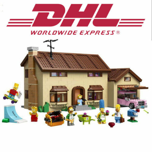 Manual Books BEST New BRAND Custom The Simpsons House Compitible TO Lego 71006