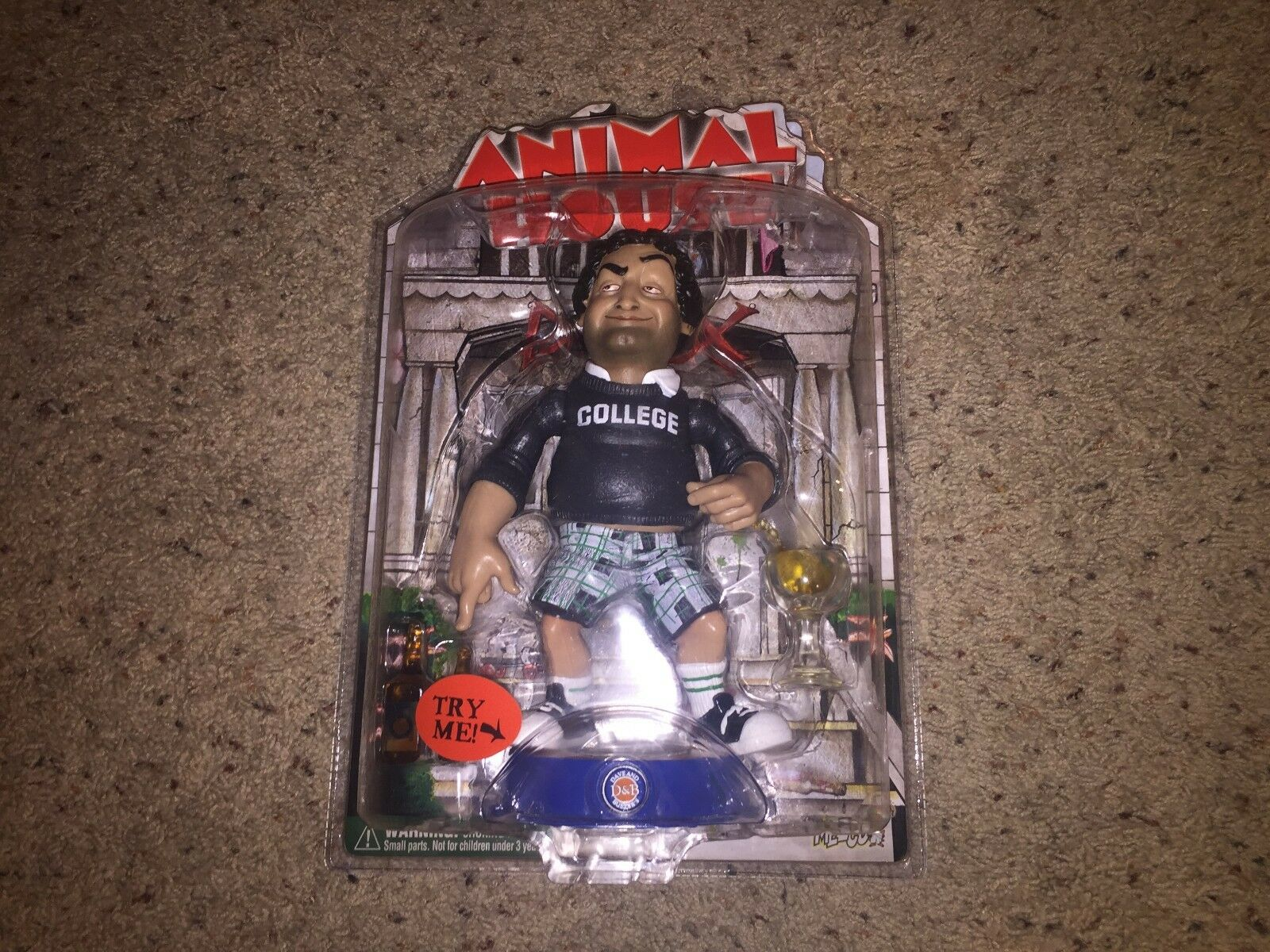 Bluto (John Belushi) Animal House Mezco 2004 Dave & Busters Action Figure NEW