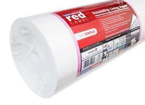 Erfurt MAV Red Label Insulating Lining Paper Single Roll EMILPS