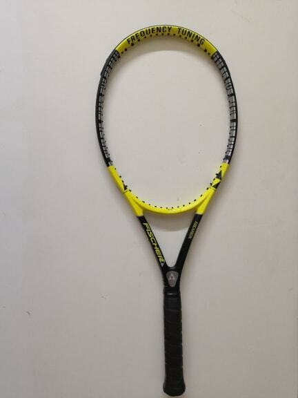 Fischer Pro Tour ft 98 cabeza 4 3 8 Grip Tenis Raqueta