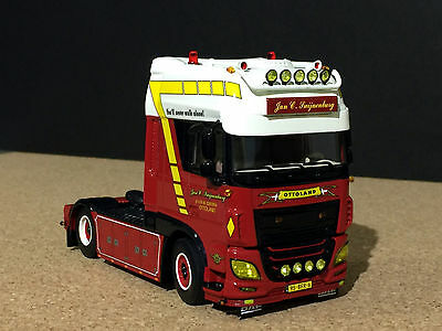 "WSI TRUCK MODELS,DAF NEW XF SUPER SPACE CAB 4x2 ""JAN SWIJNENBURG"""
