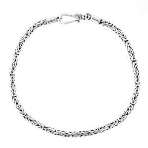 Solid 925 Sterling Silver Bracelet Anklet 9 9