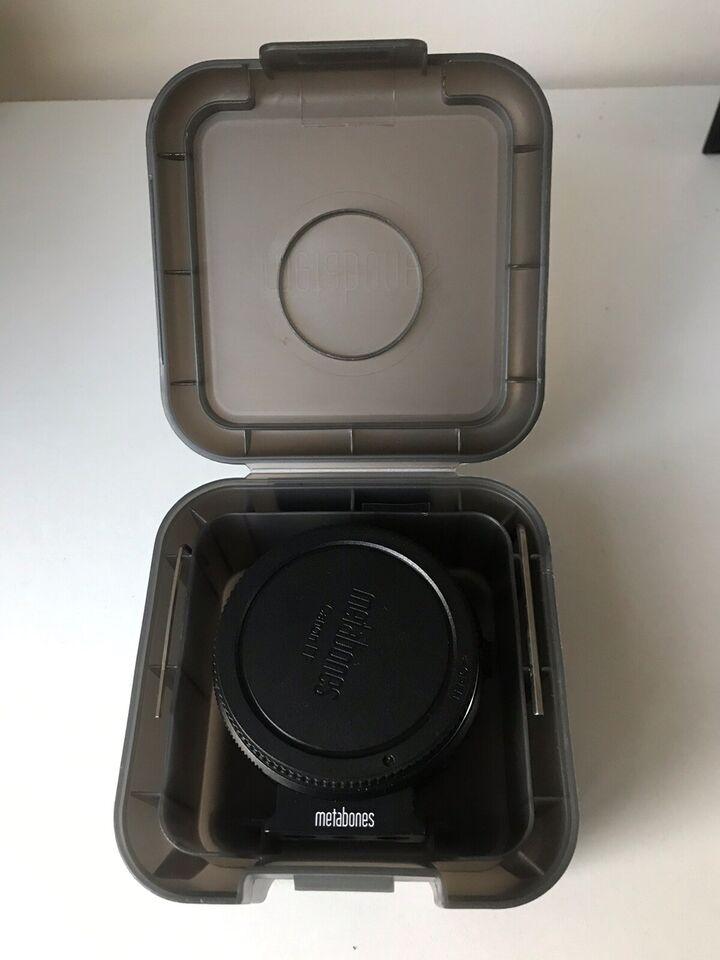 Metabones adapter version 5 , Metabones, Canon til Sony