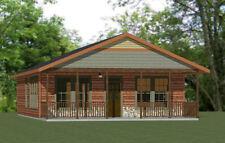 28x36 House -- 3 Bedroom 2 Bath -- 1,008 sq ft -- PDF Floor Plan -- Model 1F