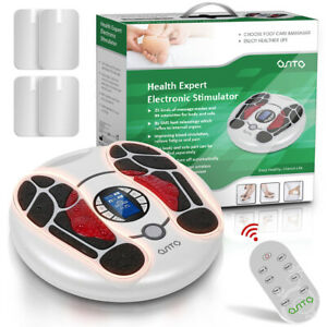 OSITO Foot Circulation Plus EMS Feet and Legs Tens Massager Machine Neuropathy